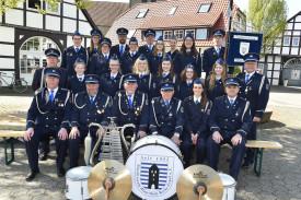 02 Blau Weiß Espel 2017 Spielmannszug DSC 3498
